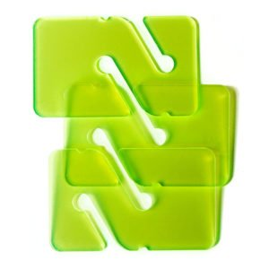 3 REMs (Reference Exit Marker) - Transparent Green
