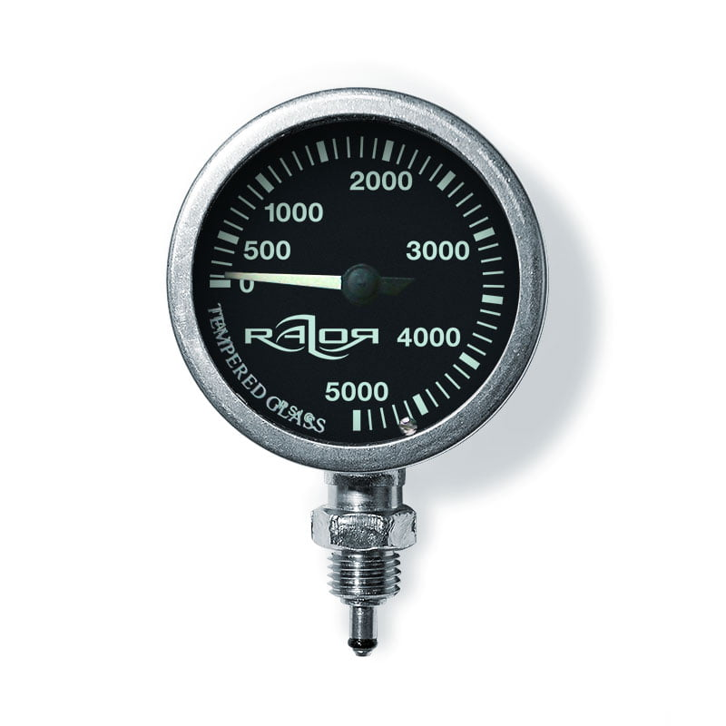 RAZOR Naked Submersible Pressure Gauge PSI