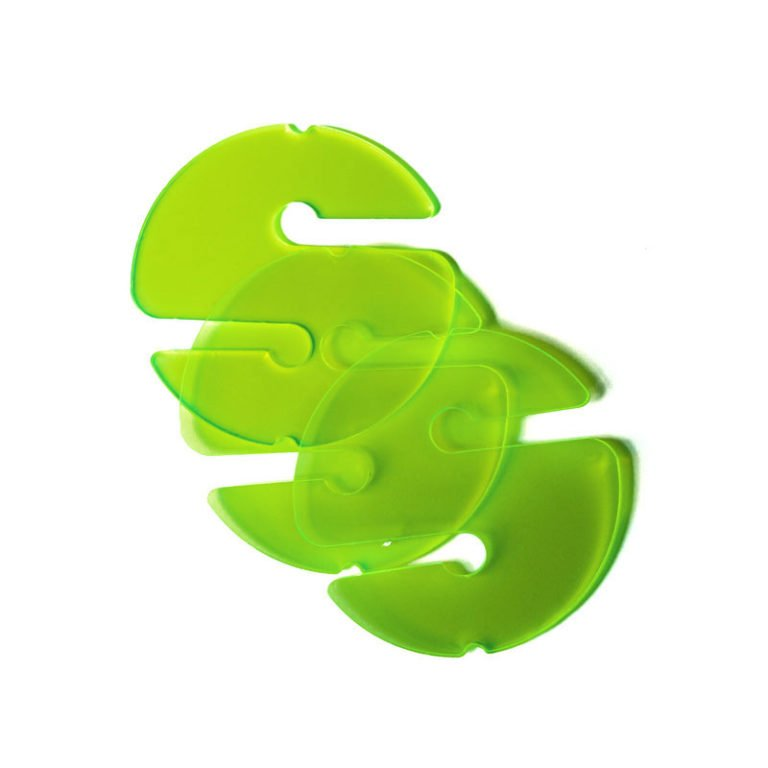 3 Cookies (Non-Directional Marker) - Transparent Green