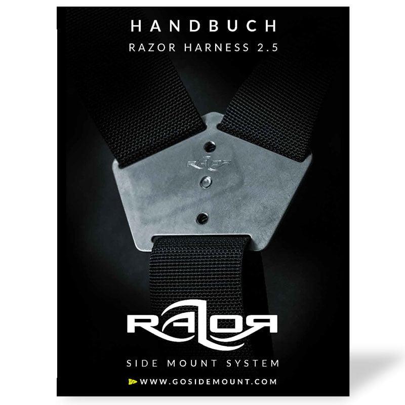 Handbuch für das neue Razor Harness 2.5