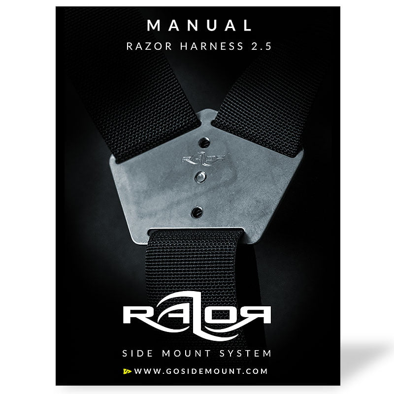 Manual for the new Razor Harness 2.5