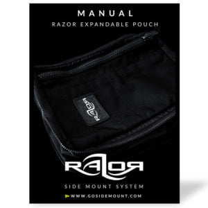Manual for the Razor Expandable Pouch
