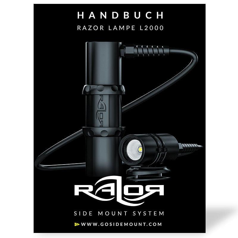 Handbuch für die Razor Side Mount Lampe L2000