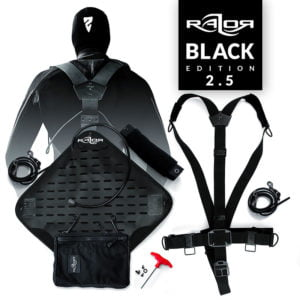 Razor Side Mount System 2.5 Complete – BLACK EDITION