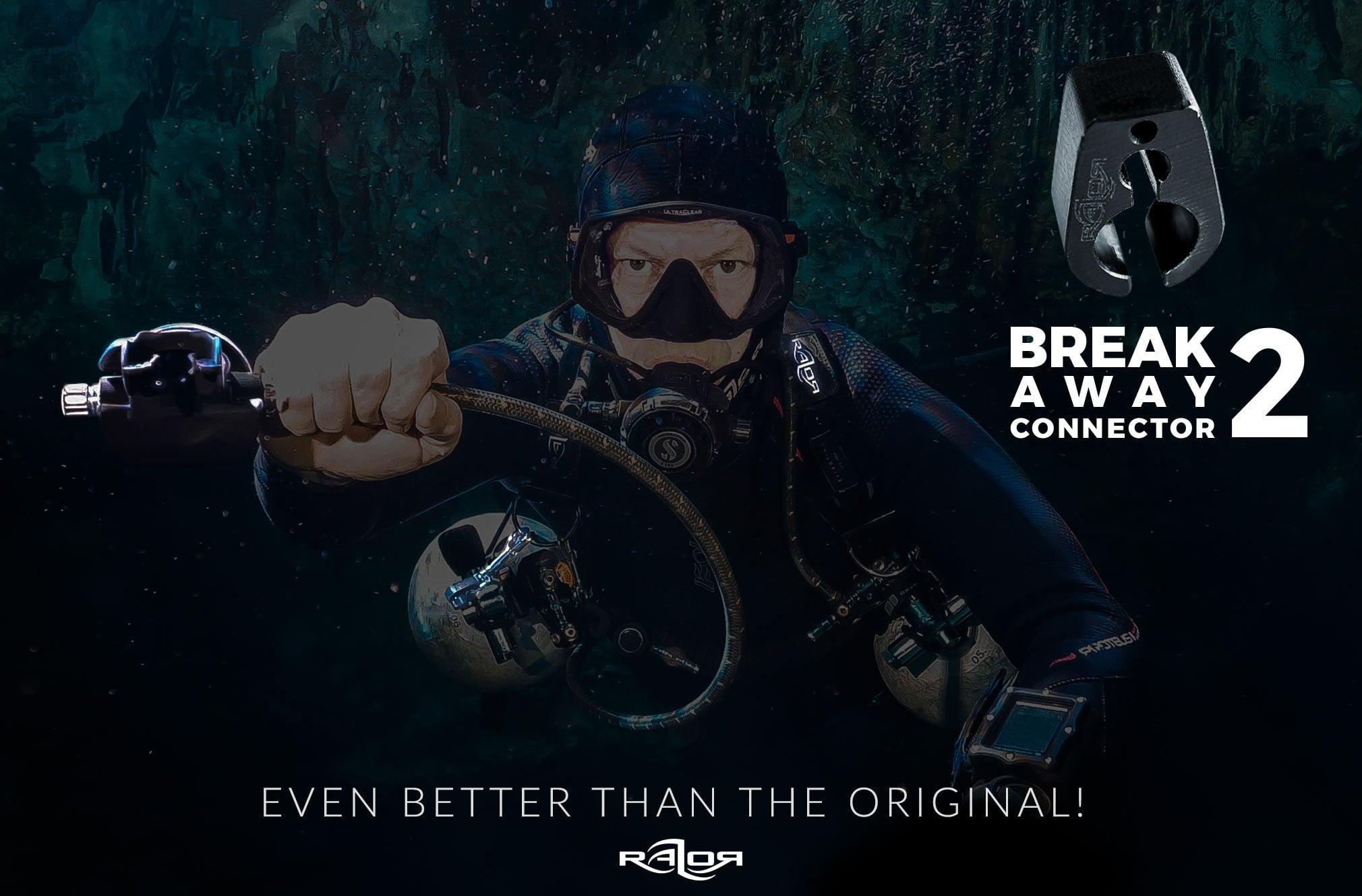 Razor Break Away Connector