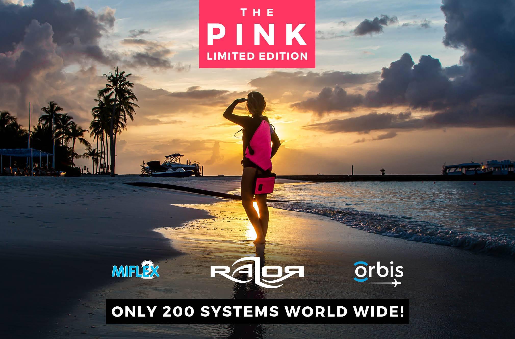 Razor Side Mount System 2.5 Complete - PINK EDITION