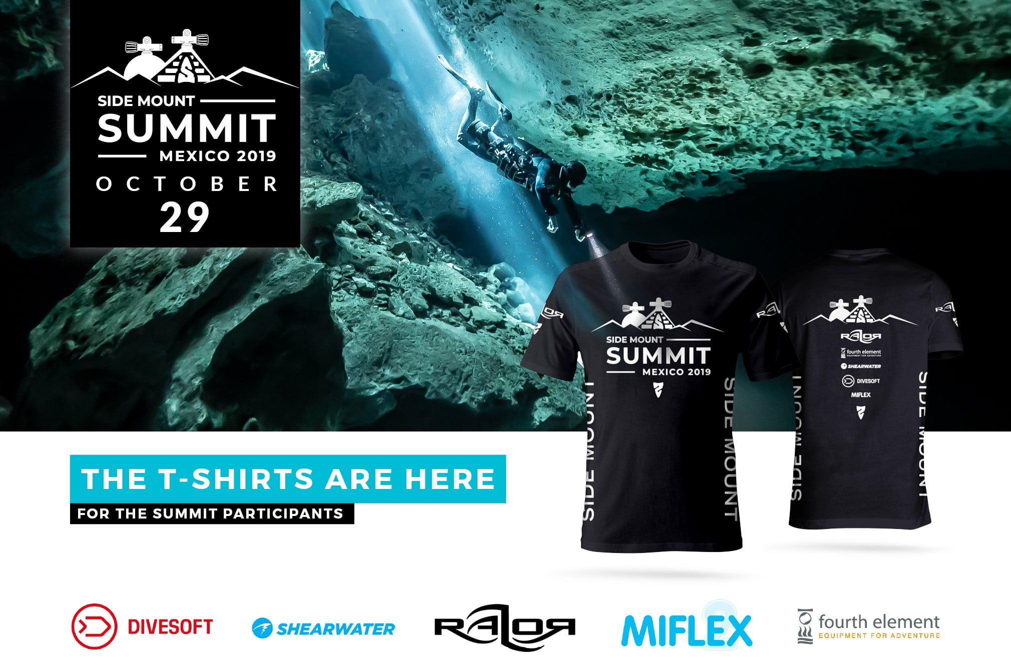 Razor Side Mount Summit 2019 T-Shirt